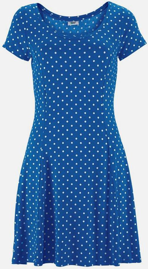 Damen Strandmode Online - Beach Time - Strandkleid - Blau